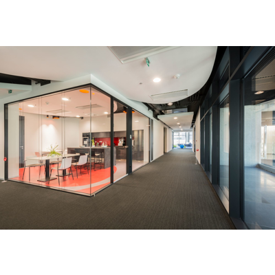 Image for Micra II  | frameless double glazed partition