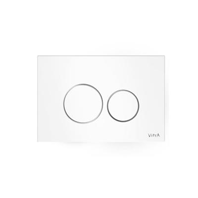 Image for Flush Plate Control Panel - Toilet Cisterns - Vetro Series - VitrA