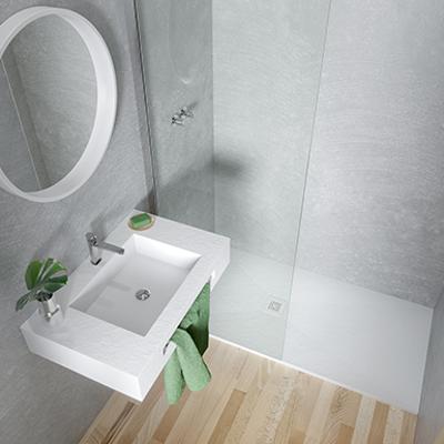 Image for BASE SLATE Shower Tray 1400x800mm
