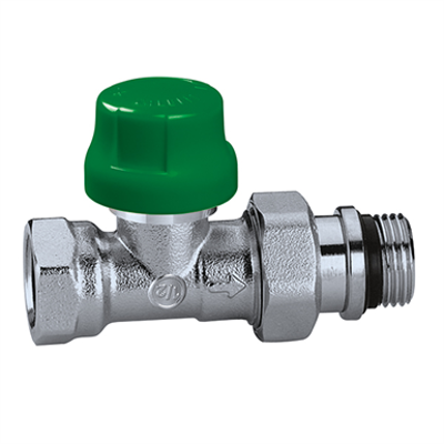 Image for Dynamic thermostatic radiator valves DYNAMICAL® - Straight version for steel pipes