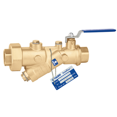 Image for AUTOFLOW® - Automatic flow rate regulator with high resistance polymer cartridge and ball valve