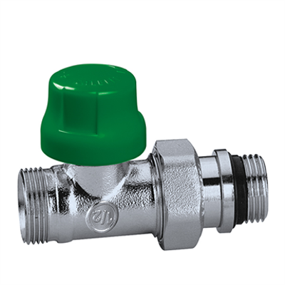 Image for Dynamic thermostatic radiator valves DYNAMICAL® -  Straight version for copper, simple plastic and multi-layer pipes