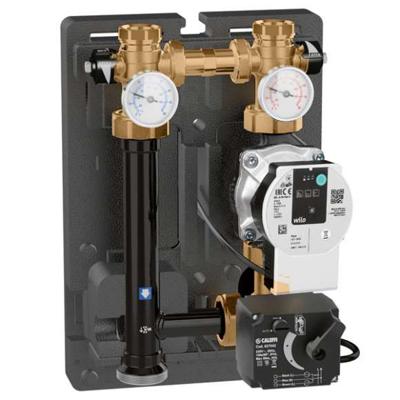obraz dla Thermostatic regulating unit for heating systems