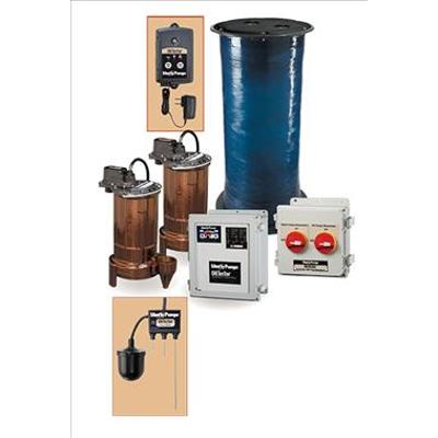 afbeelding voor ELV Duplex Sump Pump Systemvwith OilTector®