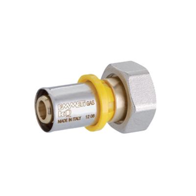 Immagine per Gaspex - Diritto con dado girevole, tenuta o-ring per collettore gas