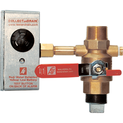 Image for Model 5100 ALBV COLLECTanDRAIN - Ball valve with water detector only