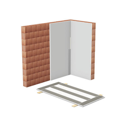 Image for W611.es Dry Plaster with gypsum boards