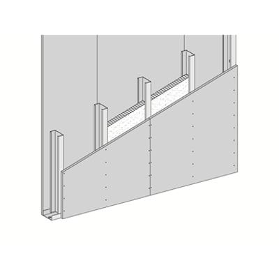 W381.es Single metal stud frame, single-layer cladding 이미지