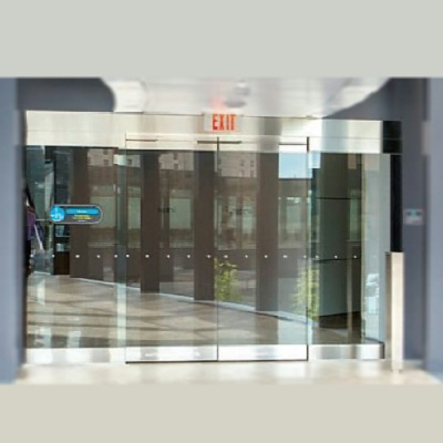 Image for Automatic Sliding Door, All Glass ESA500 Showcase