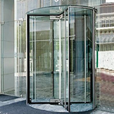 Image for Revolving Door, All Glass Crane 4000 Series Showcase