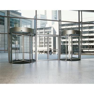Image for Revolving Door - Curtain Panels KTV Framed-Glazed Glass-Roof-Range