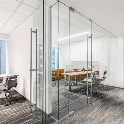 Image for Interior Glass Walls DORMA PURE® Series - Pivot - RTS Closer_r14