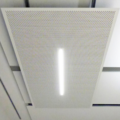 Image for Metawell® acoustic element Perfect 2000-W with LED