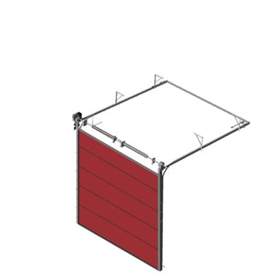 Image for Sectional overhead door 601 - standard lift - 40mm panels