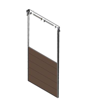 Image pour Sectional overhead door 601 - vertical lift - 80mm panels