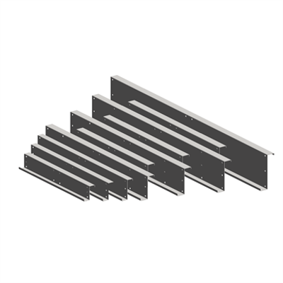 Image for Structural framing - K profile fish-plate