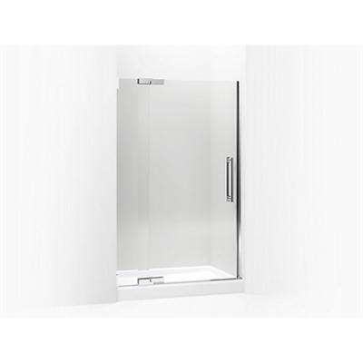 """รูปภาพสำหรับ Purist® Pivot shower door, 72-1/4"""" H x 45-1/4 - 47-3/4"""" W, with 3/8"""" thick Crystal Clear glass"""