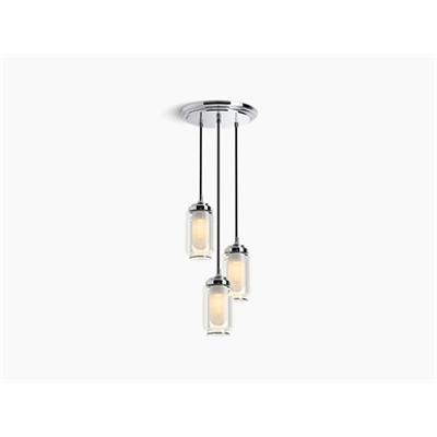 Image for Artifacts® Three-light chandelier