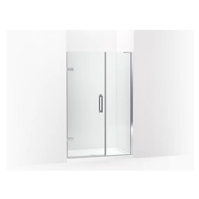 """Image for Components™ Frameless pivot shower door, 71-3/4"""" H x 46 - 46-3/4"""" W, with 3/8"""" thick Crystal Clear glass"""
