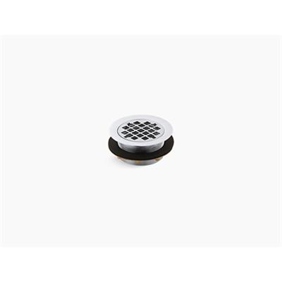 画像 Round shower drain for use with plastic pipe, gasket included