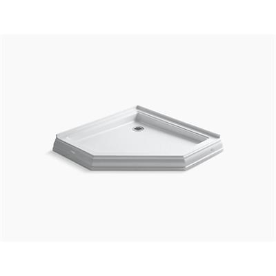 "Image for Memoirs® 42"" x 42"" neo-angle single threshold rear center drain shower base"
