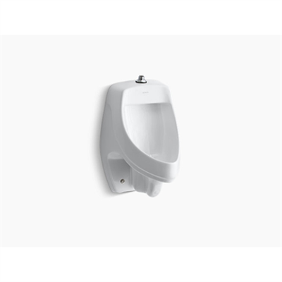 Image for Dexter™ siphon-jet wall-mount 0.5 or 1.0 gpf urinal with top spud, antimicrobial