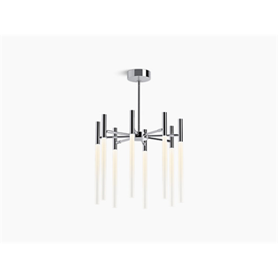Image for Components™ Eight-light LED chandelier