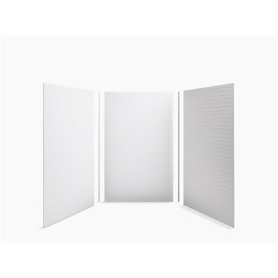"Choreograph® 60"" x 60"" x 96"" shower wall kit, Brick texture图像"