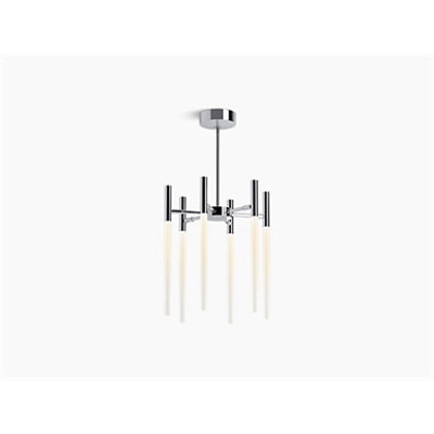 Image for Components™ Six-light LED chandelier