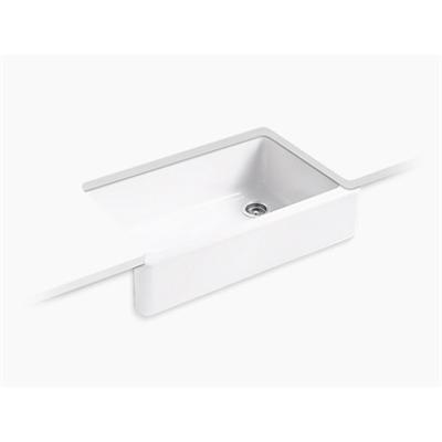 imagem para Whitehaven® Undermount single-bowl farmhouse kitchen sink