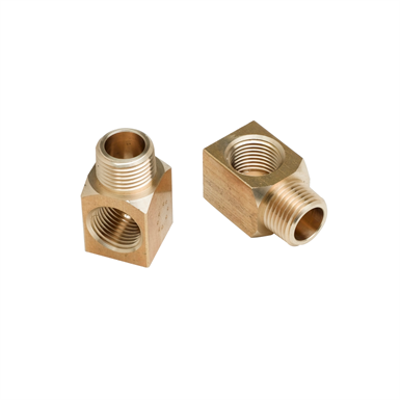 """Image for B-1100-K Installation Kit for Workboard WallMount Faucet, (2) Short Elbows (1/2"""" NPT Female x Male)"""