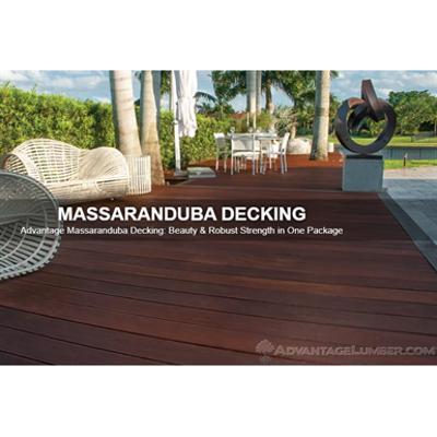 imagen para Massaranduba Decking