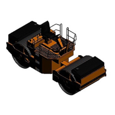 Image for BIMobject TH x Thai Obayashi_VibratoryRollerCompactor