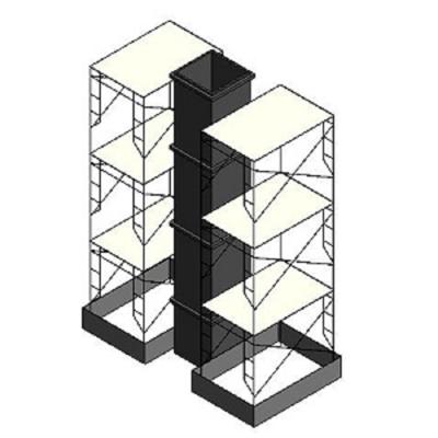 Image for BIMobject TH x Thai Obayashi_FormworkColumnwithScaffolding