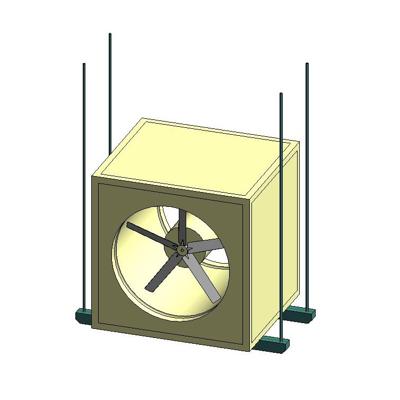 kép a termékről - BIMobject TH x Thai Obayashi_KRUGER CPA Series Cabinet Fan
