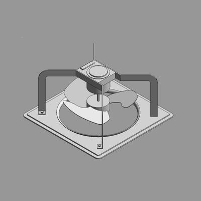 kép a termékről - BIMobject TH x Thai Obayashi_PanasonicFV##GS4 Exhaust Fan Industrial  Wall Type