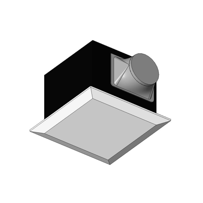 Image for BIMobject TH x Thai Obayashi_Fan Exhaust Ceiling Rectangular Panasonic FVSeries