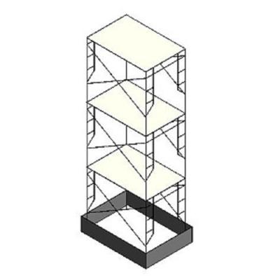 Image for BIMobject TH x Thai Obayashi_3-StoreyScaffolding
