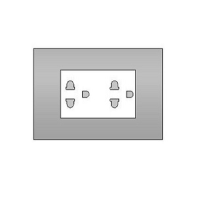 Image for BIMobject TH x Thaiobayashi_DoubleSocketset3P