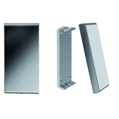 Image for Inox Care Base plate with cover plate blind vario, 110x226