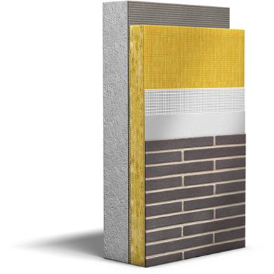 Image for ETICS: collection / Stone Wool / Acrylic Brick Slips