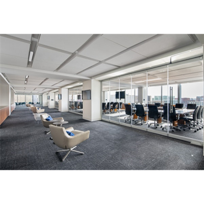 Image pour PrivaSEE™—All Glass Single Track Sliding System for Acoustical Separation