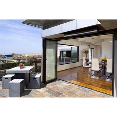 Image for NanaWall® SL45 - The Aluminum Framed Monumental Folding/Paired Panel System
