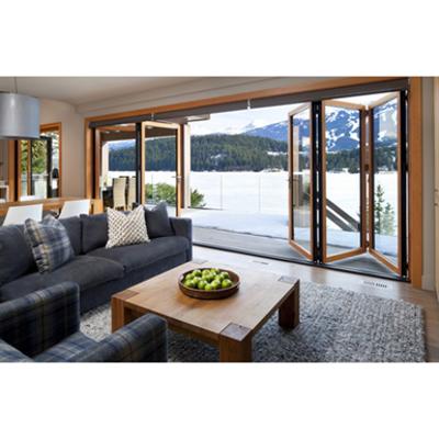 Image for NanaWall® WA67 - The Aluminum Clad Wood Framed Folding System