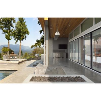 Image for NanaWall® SL82 - Structurally Glazed Aluminum Framed Folding System