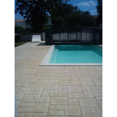 Image for Béton imprimé - Stamped concrete - CHRYSO®DuraPrint - Casablanca