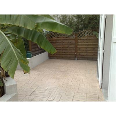Image for Béton imprimé / Stamped concrete - CHRYSO®DuraPrint - Versailles