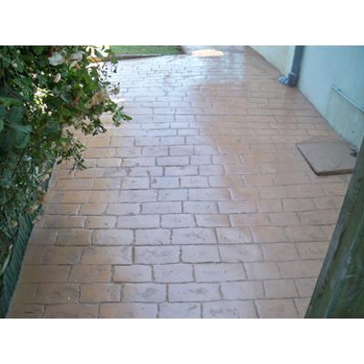 Image for Béton imprimé - Stamped concrete  - CHRYSO®DuraPrint - Vieux pavés