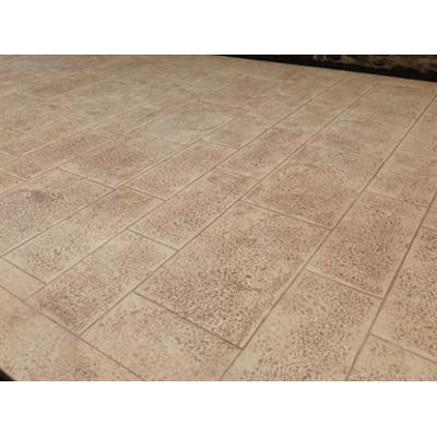 Image for Béton imprimé - Stamped concrete  - CHRYSO®DuraPrint - Dalles de Bourgogne