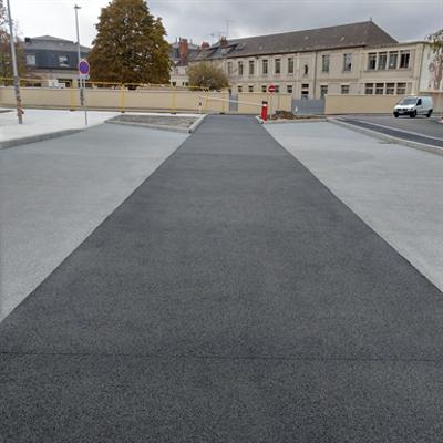 Image for Beton drainant / Pervious concrete -  CHRYSO®EasyDrain